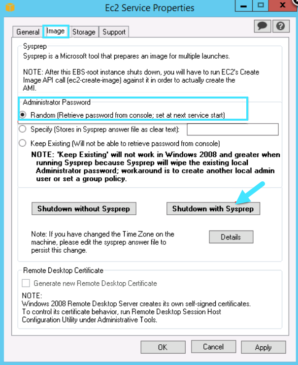 Create custom image for load generators on the cloud