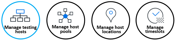 Manage hosts