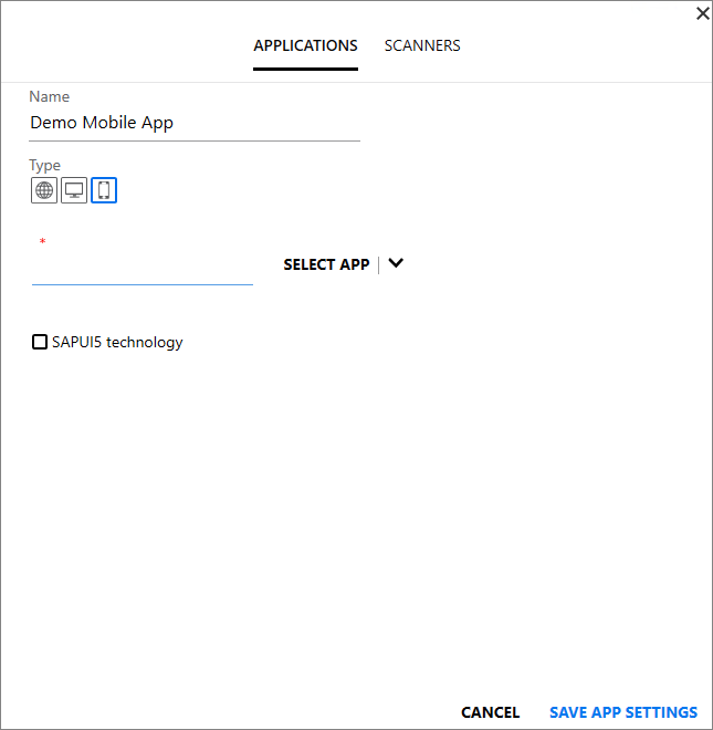 Create a Test for Mobile Apps